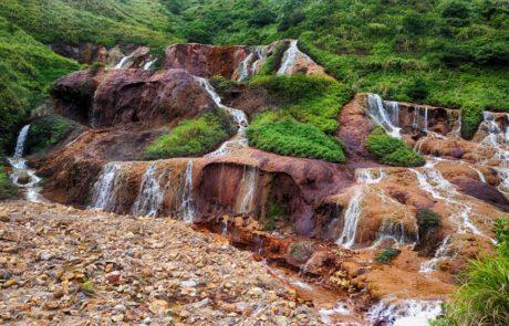 Jinguashi Gold Waterfall